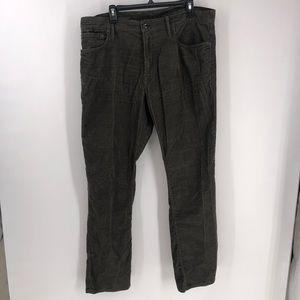 Gap 1969 pants corduroy straight leg size 38x32